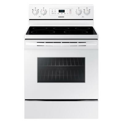 Samsung NE59M4320SW Freestanding Electric Range with Self Cleaning -