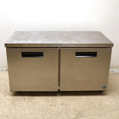 Hoshizaki Crm60 Stainless 60 X 30 2-door Refrigerator Counter Top Prep Table