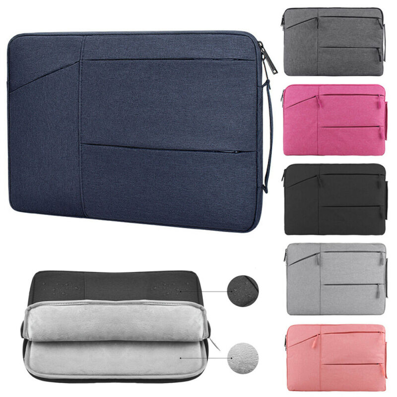 Laptop Bag Shockproof Sleeve Case Computer Cover For MacBook