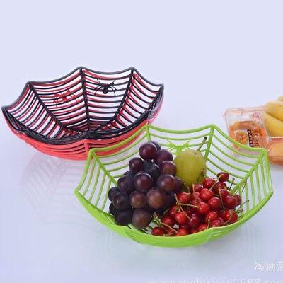 n Halloween Süßigkeiten Körbe Kunststoff Obst zufälligeFarbe (Halloween Süßigkeiten Körbe)
