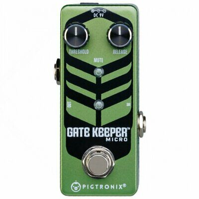 Pigtronix Gatekeeper Micro Effects Pedal, PXGKM D