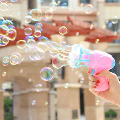 Outdoor-kinderspielzeug (Kinder Elektrische Bubble Machine Blasen Bubble Blower Outdoor Kinderspielzeug )