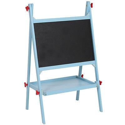 Kindertafel Schultafel Maltafel Standtafel Staffelei Schreibtafel Tafel blau neu