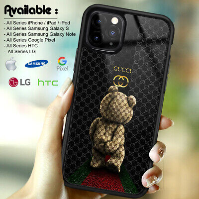 Case iPhone 11 Pro Max Guccy845rCases 8 X XR XS Bear Galaxy S10 S20 Ultra 124