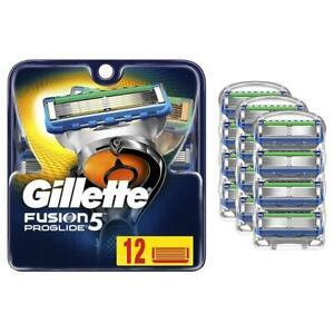Gillette Fusion5 ProGlide Men's Razor Blades, 12 Blade Refil