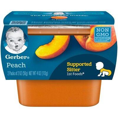 1st foods baby food peach