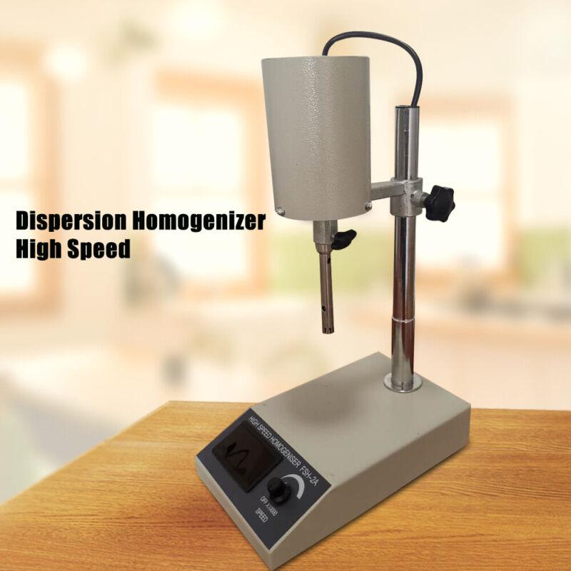 22000 Rpm High Speed Dispersion Homogenizer FSH-2A Lab Mixer Devices Set 110V US