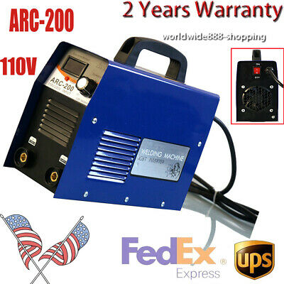 Dual Voltage 110v 200 Amp Igbt Tig Torch Stick Arc Mma Dc Inverter Welder Top Us