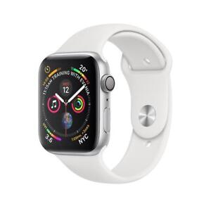 Apple Watch Series 4 Silver Aluminium Case with White Sport Band 40MM GPS BRAND NEW SEALED W/ 1 YEAR APPLE WARRANTY