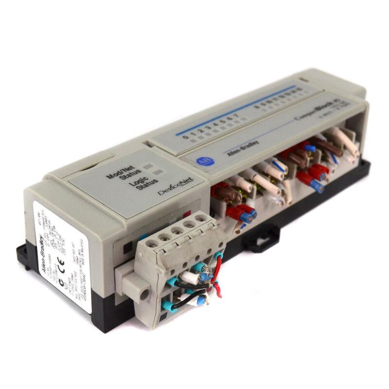 Allen-Bradley 1791D-16B0 DeviceNet Ser D Rev C01 Compact Block I/O PLC Module