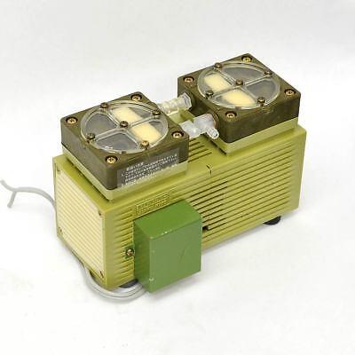 Ulvac Sinku Kiko Da-5d Dual-stage Diaphragm Vacuum Pump 100v 5060hz 6lmin 60t