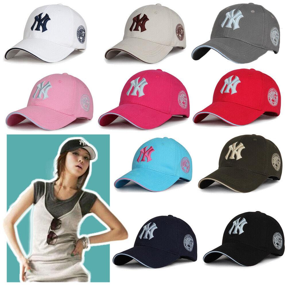Black Baseball Hat New Women Bboy Yankees York Hip-Hop Cap L