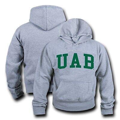 Alabama Sweatshirt (NCAA Alabama At Birmingham University Sweatshirt Spiel Tag Fleece Heather Grau)