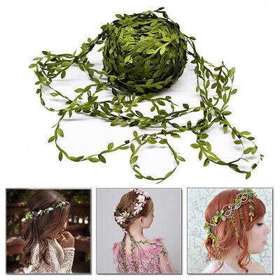 20M Artificial Ivy Vine Leaf Fake Foliage Flower Garland Floral Crown DIY Plants