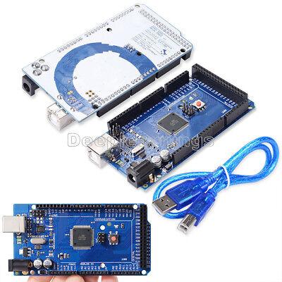 Mega 2560 R3 Atmega16u2 Atmega2560-16au Board Usb Cable For New