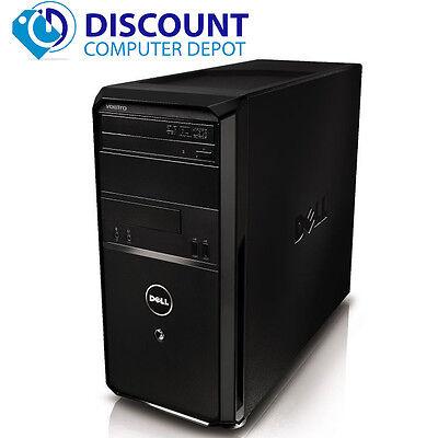 Dell Vostro Windows 10 Desktop Pc Tower Computer 2 66Ghz Core 2 Duo 4Gb 160Gb