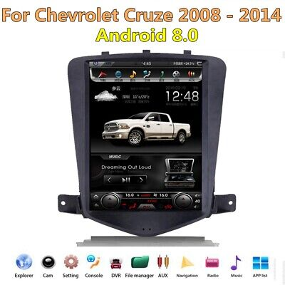 Style Navigation - Tesla Style Android 8.0 Car Dvd player Navigation For Chevrolet Cruze 2010-2014