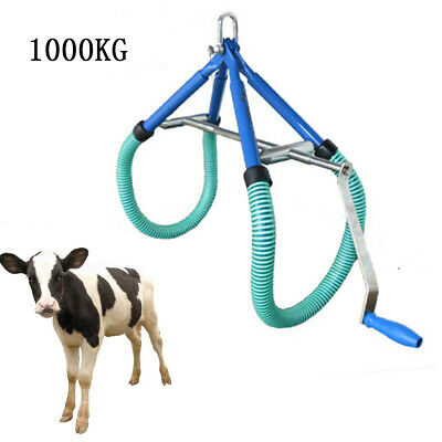 Lame Cow Hip Lift Milk Birthing Ob Calving Milking Lame Cow Adjustable 1000kg Us