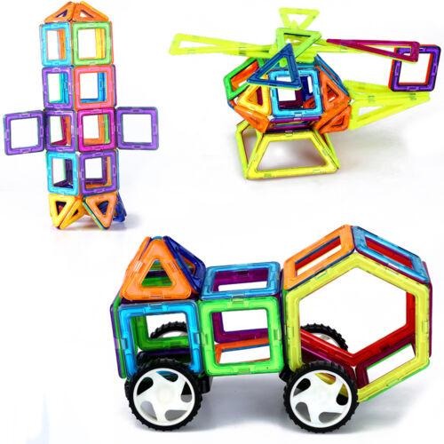 Magnetic Building Toys : Pcs multicolor magnetic blocks building toys
