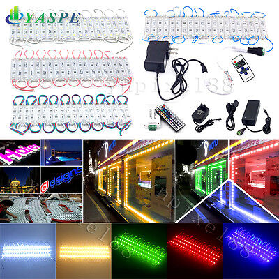 50100ft 5050 Smd 3 Led Module Store Front Window Light Strip Optional Kits