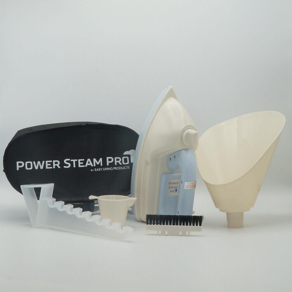 Power Steam Pro - White