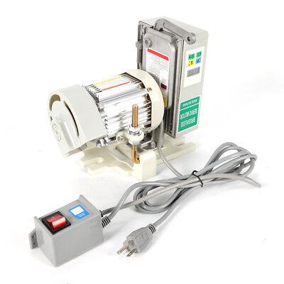600w 110v Brushless Servo Motor Energy Saving For Industrial Sewing Machine 6n.m