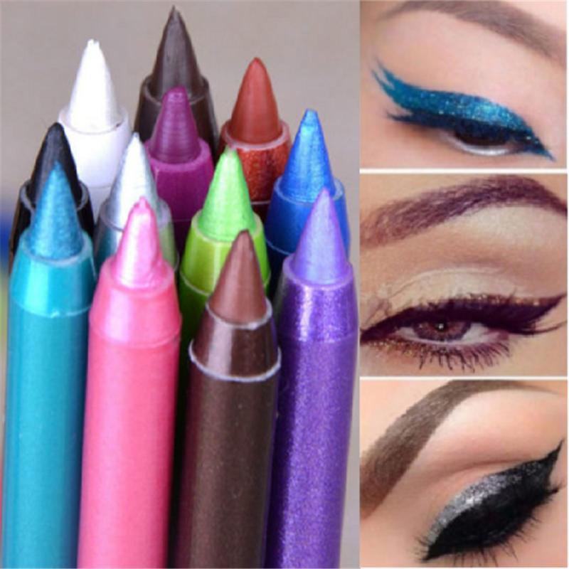 2PCS Charm Long Lasting Eye Liner Pencil Pigment Waterproof