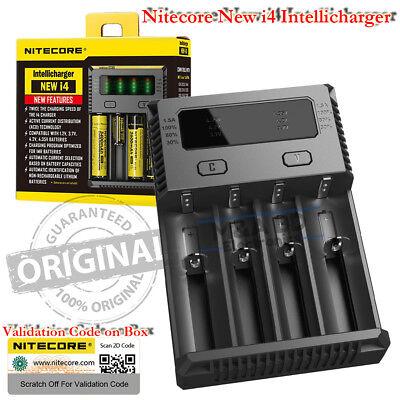 Nitecore New I4 Intellicharger Universal Smart Vape Mods 18650 Battery Charger