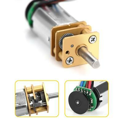 Dc6v Gm12by20 Gear Motor With Magnetic Coded Disc Hall Encoder 30rpm -70rpm Hot