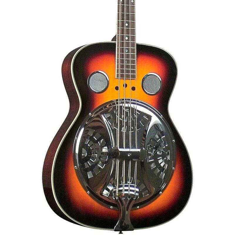 Regal RD-05 Studio Series Resophonic Bass Traditional Sunburst LN
