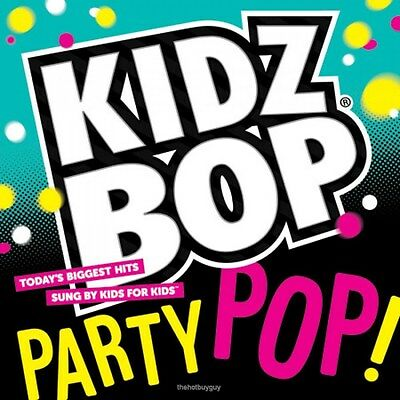 Kidz Bop Party Pop  By Kidz Bop Kids  Cd  2014  Razor   Tie  New