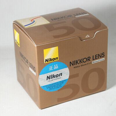 Brand New Nikkor AI-s 50mm f1.4 S Standard Lens Manual Focus