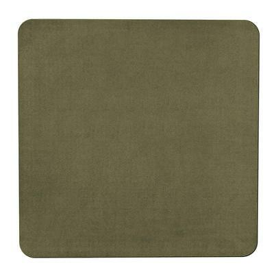 Skid-resistant Carpet Area Rug Floor Mat - Olive Green - 6'