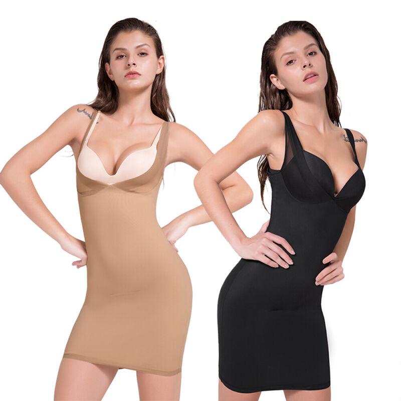 Unterkleid für Damen Miederkleid Unterrock Unterröcke Unterwäsche Full Slips