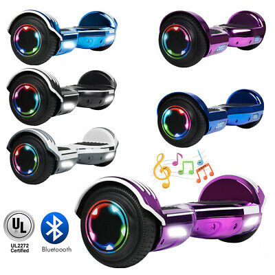 6.5'' Hoverboard with LED& Bluetooth Two Wheel Electric Scoo