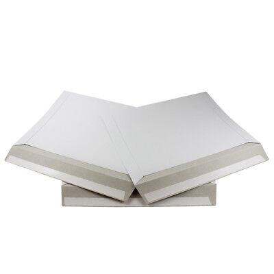 50 - 12.5 X 9.5 Ecoswift Brand Self Seal Ship Photo Cardboard Envelope Mailers