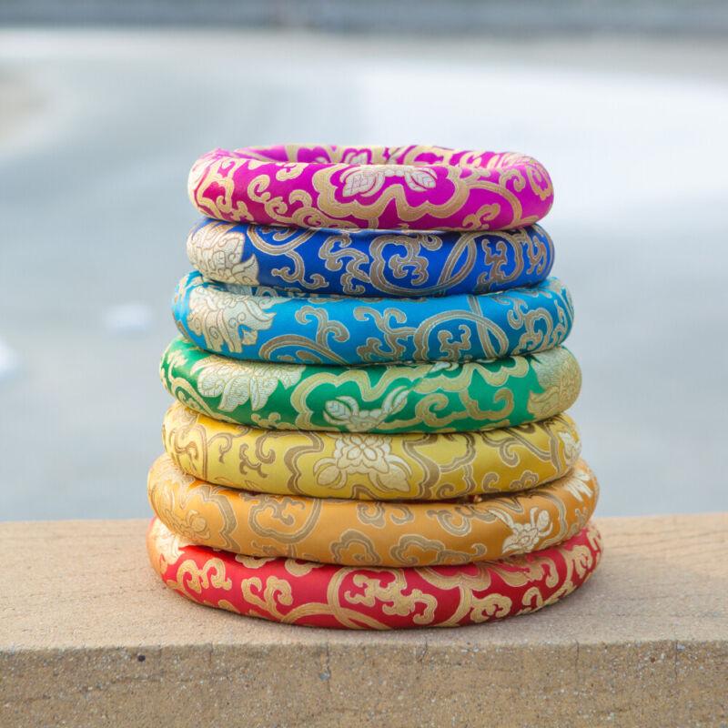 "7pcs Color O-ring for Crystal Singing bowls 8""-14"""