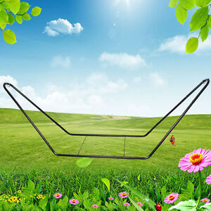 NEW Outdoor Heavy Duty Extra Large Metal Steel Frame Hammock Swing Chair Stand