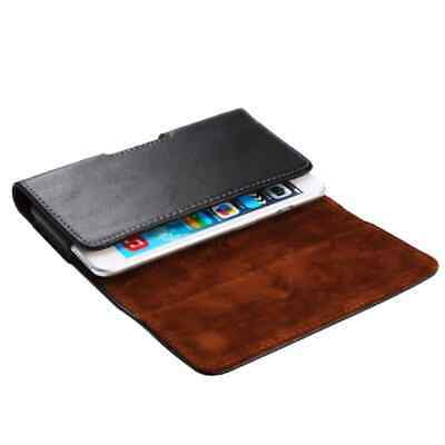 for Ivoomi Me5 Genuine Leather Case Belt Clip Horizontal