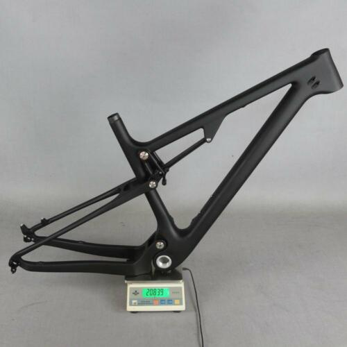 2021 NEW Full Suspension Carbon frame MTB Bicycle mountain bike frame matt FM078