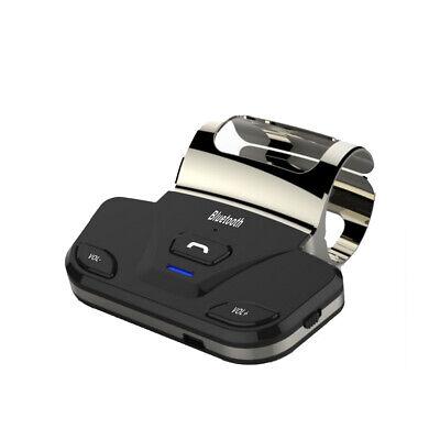 Hands-free Bluetooth Car Kit Steering Wheel Speaker Phone USB charger Wireless