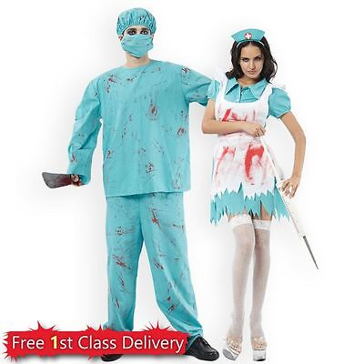 Doctors & Nurses | Halloween Couples Idea | Surgeon Naughty - Couples Halloween Ideas