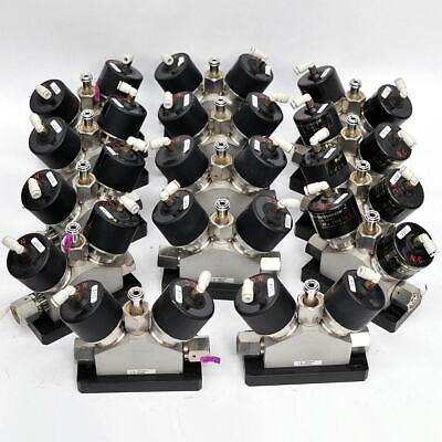 Lot Of 14 Fujikin New Mega Dual Pneumatic Gas Valves 405063 And 068021bndv