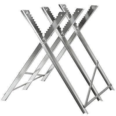 Caballete para sierra eléctrica hendidora de madera soporte serrar leña nuevo