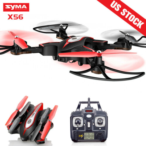RC Foldable Drone Syma X56 Quadcopter Set Height Altitude Hold Outdoor Toy Gift