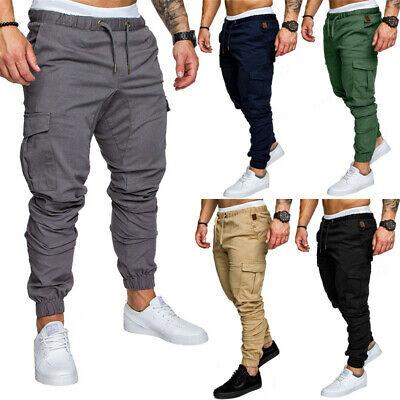 Mens Sport Pants Long Trousers Tracksuit Gym Casual Workout Joggers Sweatpants Workout Pants Men
