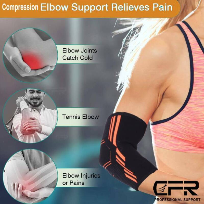Copper Brace Compression Support Sleeve Joint Wrap