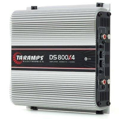 Taramps DS800x4 800w RMS 4 Channels 2 OHM w/ warranty in the USA!