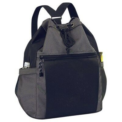 Drawstring Tote Backpack  Roomy Main Compartment W Secu