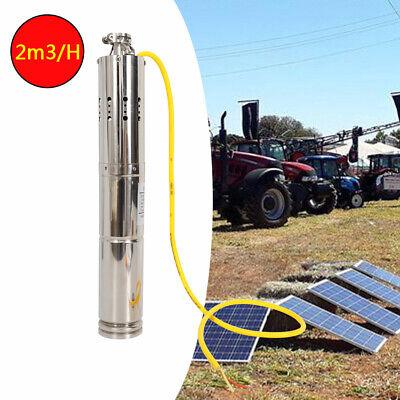 High Quality Deep Well Submersible Pump Solar Dc Screw Water Pump 12v18v 2m3h